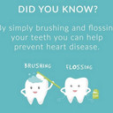 Brush teeth prevent heart disease