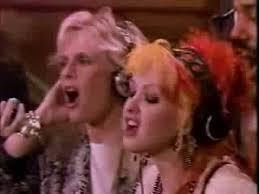We are the world Cindi Lauper & Kim Carnnes 1985
