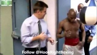 """Floyd Mayweather shows you how to throw a """"Power Punch"""""""