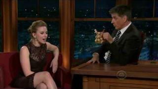 Scarlett Johansson on Craig Ferguson