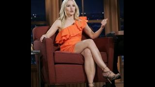 Craig Ferguson & Sexy Kristen Bell: Take your dress off! - Flirtatious Pick Up Interview -